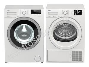 Beko WTV7732XS0 + DPS7405GB5
