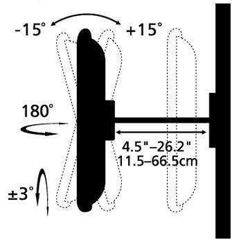 Stell SHO 1005 B sklopný držák