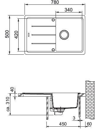 Franke BFG 611-78