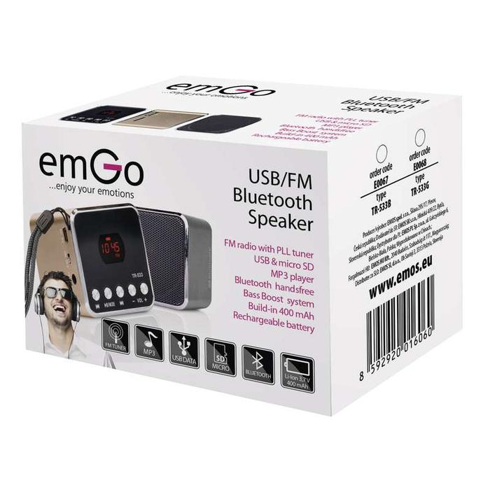 Emgo E0067 USB soundbox TR533B