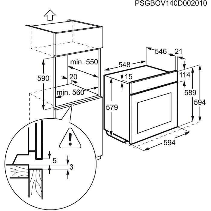 Electrolux EOA5551AOZ
