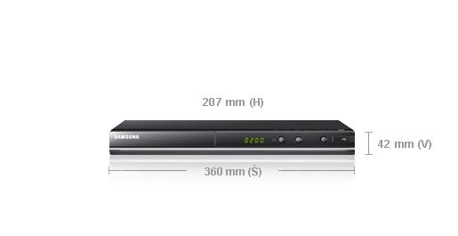 Samsung DVD-D530 + doprava zdarma