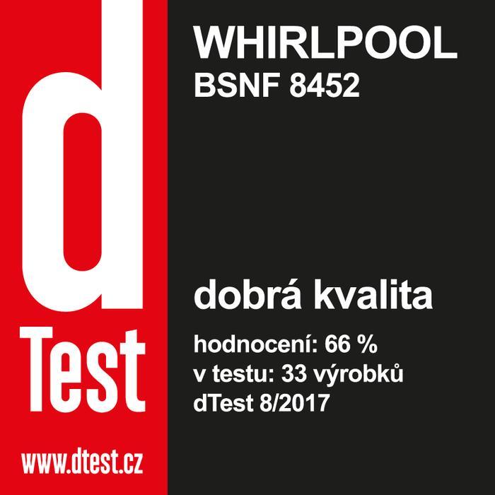 Whirlpool BSNF 8452 OX