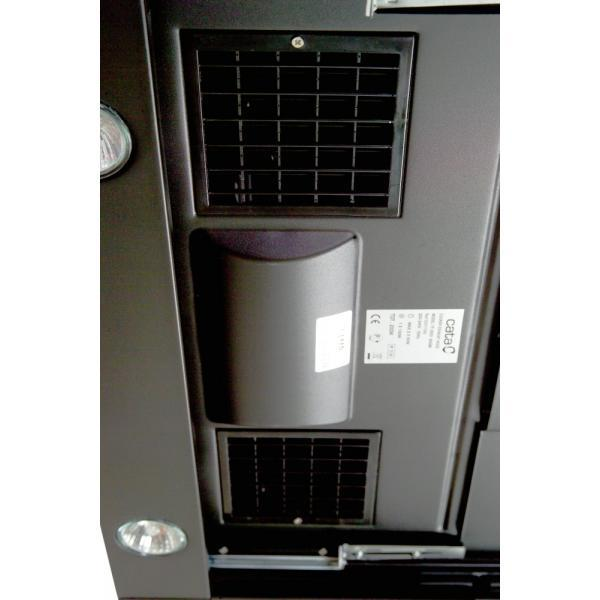 CATA TF 2003 černé sklo 600 LED