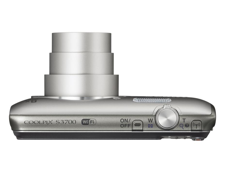 Nikon Coolpix S3700 Silver + doprava zdarma