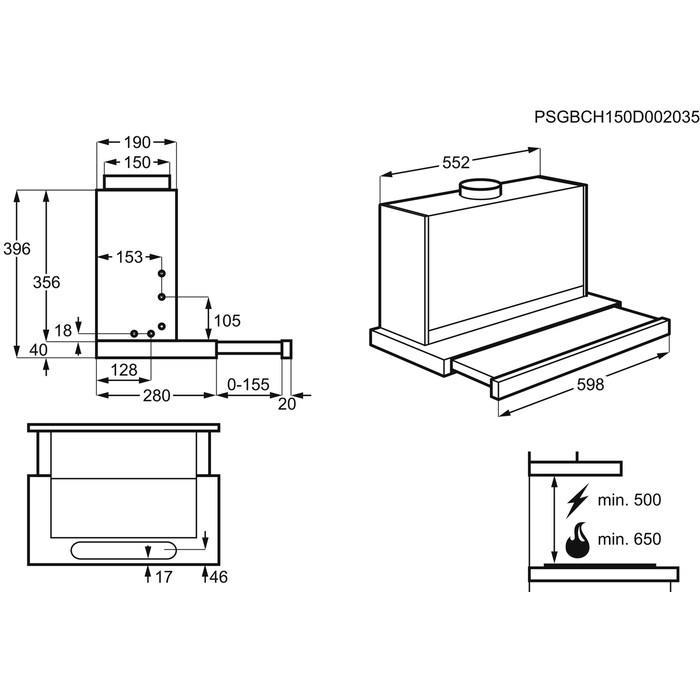 Electrolux EFP60436OX