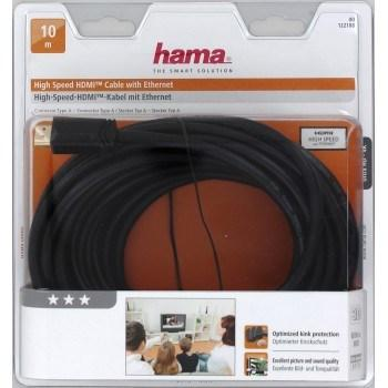 Hama 122108 HDMI pozlacený 10m