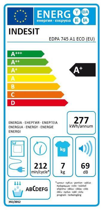 Indesit EDPA 745 A1 ECO