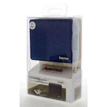 """Hama 173121 mobilní Bluetooth reproduktor """"Pocket"""", modrý"""