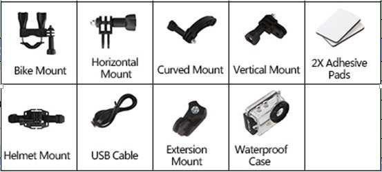 Braun 21044300 outdoorová videokamera