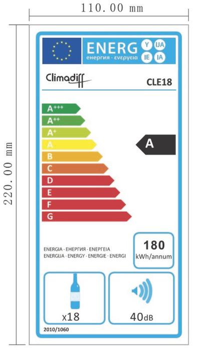 Climadiff CLE18