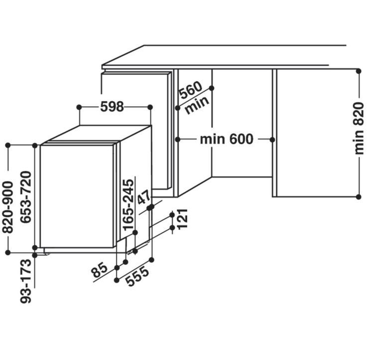 Whirlpool WIF 4O43 DLGT E + CASHBACK 1.200Kč