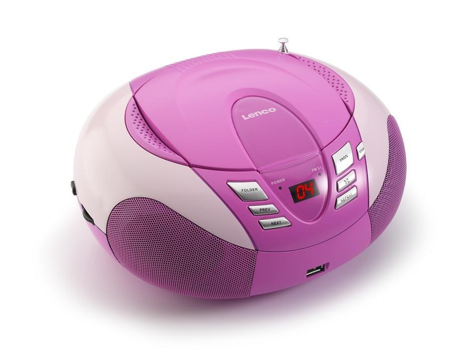 Lenco SCD-37 pink