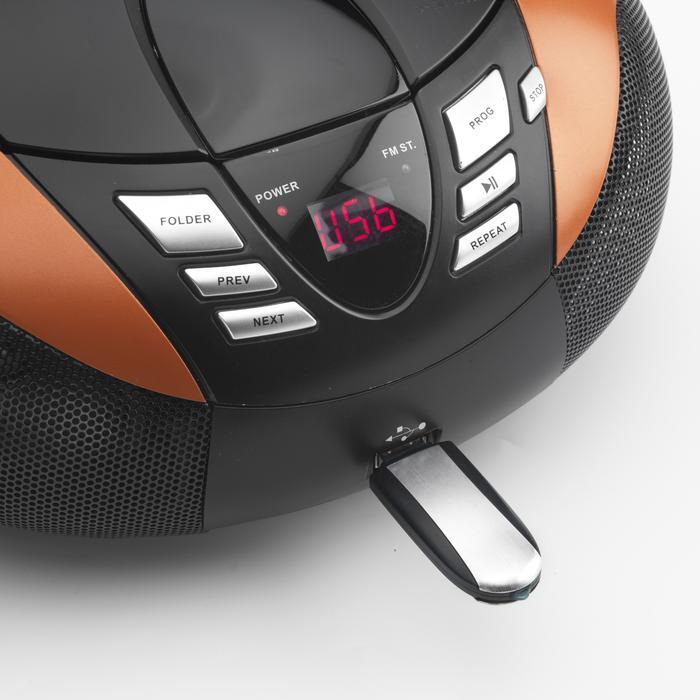 Lenco SCD-37 orange
